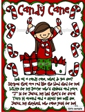 Legend of the Candy Cane Craft and Activity