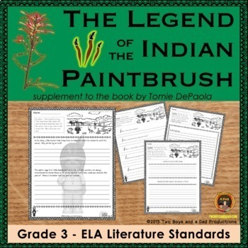 Legend of the Indian Paintbrush Literature Standards Suppo