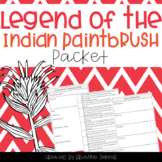 Legend of the Indian Paintbrush worksheets
