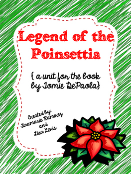 image about The Legend of the Poinsettia Printable Story named Legend of the Poinsettia~a One particular 7 days Looking at Machine for the tale via Tomie dePaola