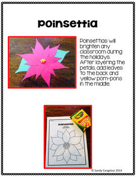LEGEND OF THE POINSETTIA BY TOMIE DePAOLA - Book Study and Mexican Culture