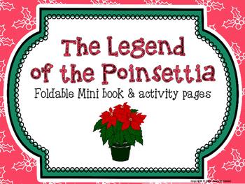 Christmas ELA - Legend of the Poinsettia Foldable Book and