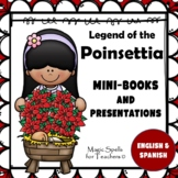 Legend of the Poinsettia- Christmas Around The World Mini Book& PPT - ENG & SPAN