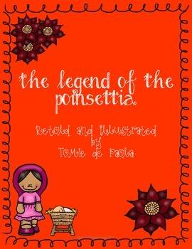 Unit on Legend of the Poinsettia by Tomie de Paola