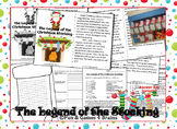 Legend of the Stocking, vocab, sequencing, summarizing, bulletin board activity
