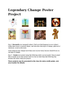 Legendary Change Poster Project