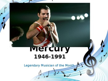 Legendary Musician of the Month: Freddie Mercury