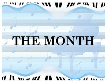 Legendary Musician of the Month: Board Template