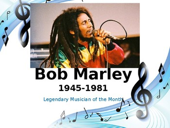 Legendary Musician of the Month: Bob Marley