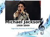 Legendary Musician of the Month: Michael Jackson