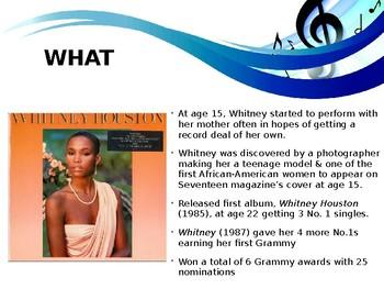 Legendary Musician of the Month: Whitney Houston
