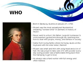 Legendary Musician of the Month: Wolfgang Mozart