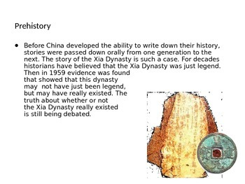 Legendary Rulers of China PPT editable
