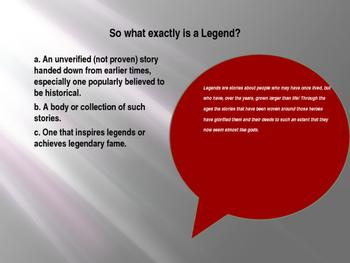 Legends (Robin Hood) PowerPoint