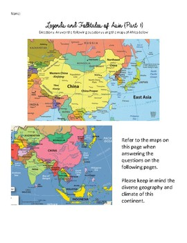 Legends and Folktales of Asia Research Project