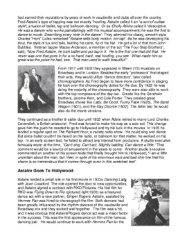 Legends in Dance -Fred Astaire UPDATED