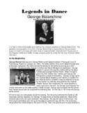 Legends in Dance - George Balanchine