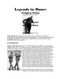 Legends in Dance -Gregory Hines - UPDATED