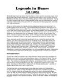 Legends in Dance -Legendary Tap Teams