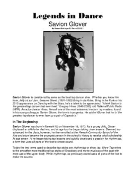 Legends in Dance -Savion Glover
