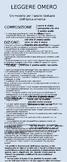 Leggere Omero: un'infografica sull'analisi del testo omerico