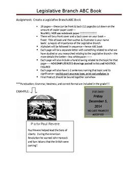Legislative Branch ABC Book