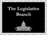 Legislative Branch Constitution Exploration Worksheet and