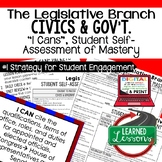 Legislative Branch I Cans & Posters, Self-Assessment of Ma