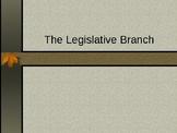 Legislative Branch Lecture