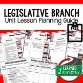 Legislative Branch Lesson Plan Guide Civics Government Bac