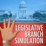 The Legislative Branch: Social Studies Simulation (How a Bill Becomes a Law)