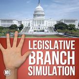 The Legislative Branch: Social Studies Simulation (How a B