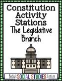 Legislative Branch Station Activity - Congress, Senate, House of Representatives