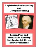 Legislative Redistricting and Gerrymandering Lesson Plan a