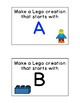 Lego Alphabet Center