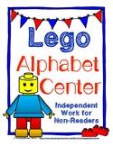 Lego Alphabet Center