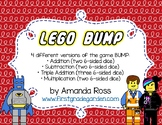 Lego BUMP Math Game {Addition, Subtraction, & Multiplication}
