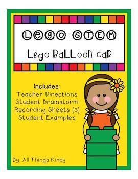 Lego Balloon Car STEM