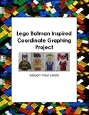 Lego Batman Inspired Coordinate Graphing Project