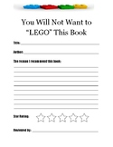 Lego Book Recommendation Form