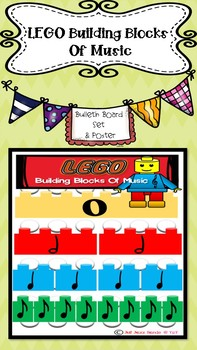 Lego Building Blocks of Music- Bulletin Board and Poster Set