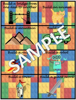 Lego Building Cards