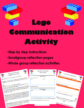 Lego Building First Day Communication Activity