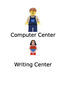 Lego Center Labels