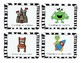 English and French Lego Center task cards -  Cartes à tach