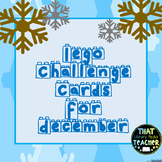 Lego Challenge Cards for December