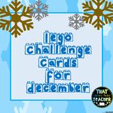 Lego Challenge Cards for December