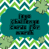 Lego Challenge Cards for March