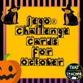 Lego Challenge Cards for October