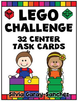 Lego Challenge Center Task Cards